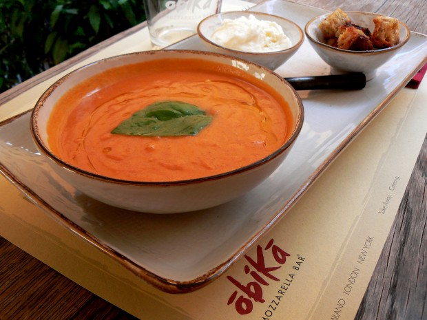 Basil and Organic Tomato Soup